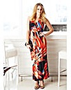 Cross Over Top Maxi Dress