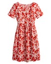 Floral Print Smock Dress - Regular