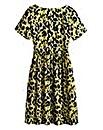 Animal Print Smock Dress - Petite