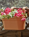 Easy Hang Double Balcony or Fence Pot
