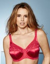 Elomi Cate Full Cup Wired Red Bra