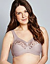 Glamorise Full Cup Non Wired Taupe Bra