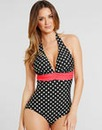 Tuscany Spot Swimsuit - Longer Length