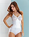 White Dotty Pantee Corselet