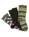 Jacamo Pack 3 Basic Multi Socks