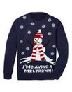 Label J Meltdown Christmas Knit