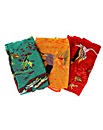 Set Of 3 Wildlife Scarves
