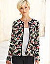 Printed Soft Crinkle Jacket