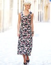 Print Crinkle Dress 45in