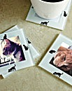 Photo Frame Coasters Set of 4