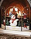 Snowman Firescreen
