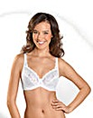 Naturana Elasticated Lace Cup Bra