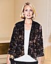 Print Devore Kimono