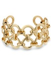 Mood Ring Linked Cuff Bracelet