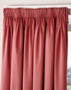 Fully Lined Three Inch Header Curtains
