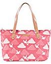 Brakeburn Cranes Tote Bag