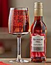 Personalised Dieters Wine Set