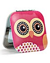 Dotty Owl Compact Mirror
