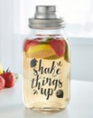 Shake Things Up Glass Cocktail Shaker