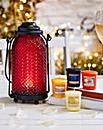 Yankee Candle Lantern & 4 Votives Set