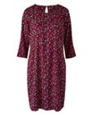 Ditsy Floral Print Tunic Shift Dress