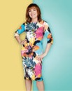 Lorraine Kelly Floral Scuba Midi Dress