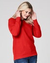 Red Jumper with side zips
