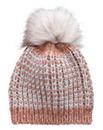 Fluffy Pom Pom Bobble Hat
