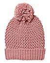 Chunky Knit Bobble Hat
