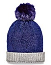 Pom Pom Bobble Hat