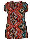 Samya Tunic Print Dress