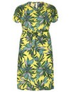 emily Tropical Split Dress