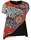 Samya Eastern Print Top