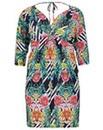 emily Tropical Jersey Dress