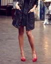 Jameela Jamil Print Shorts