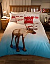 Blitzen Photo Print Duvet Cover Set