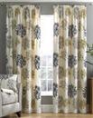 Millie Printed Floral Curtains