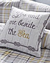 Rathmore Check Square Cushion