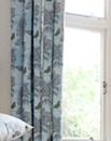 Aviana Butterfly Floral Lined Curtains