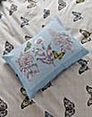 Aviana Butterfly Floral Boudoir Cushion