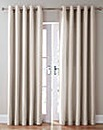 Canvas Thermal Blackout Eyelet Curtains