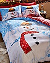 Snowman Duvet Cover Set