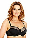 2 Pack Balcony Black Red Jessica Bras