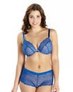 2 Pack Wired Plunge Pink Blue Bras
