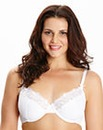 2 Pack Plunge Wired Black/White Bras