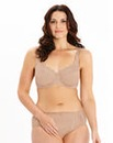 Ruby Minimiser Wired Neutral Bra