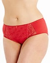 Ruby Midi Red Briefs