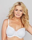 Full Cup Wired Comfort Bra White