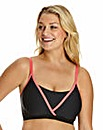 Low Impact NonWired Sports Bra Black