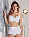 Ruby Padded Full Cup Wired White Bra